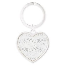 tts light Heart Keychain