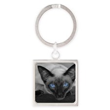 lucy-shower Square Keychain