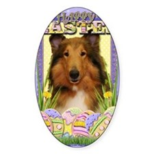 EasterEggCookiesCollieNatalie Decal