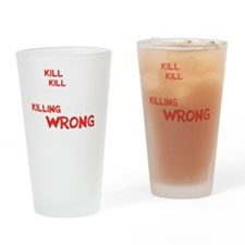 kill people wh Drinking Glass
