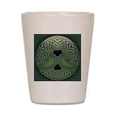 celtic-tree-BUT Shot Glass