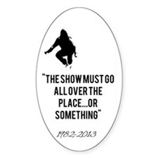 Cory Monteith Quote Decal
