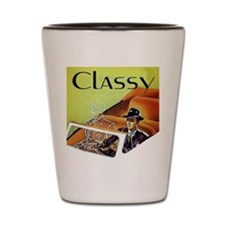 Invisible-Hitler-Classy Shot Glass