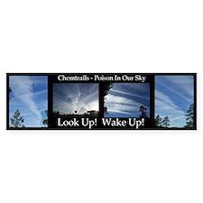 Chemtrails Bumper Stickers (Bumper 10 Pk)
