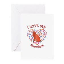 Love My Snowshoe Greeting Cards (Pk of 10)