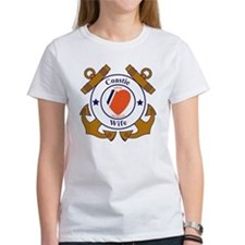 USCG SND 3 Wife Outlines Tee