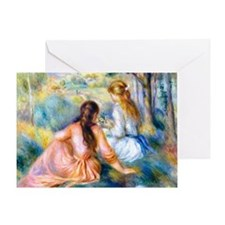 Cal Renoir 12 Greeting Card