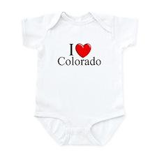 """I Love Colorado"" Infant Bodysuit"