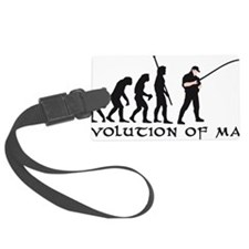 Evolution Angler B 2c Fisch Luggage Tag