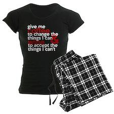Give Me Coffee And Wine Humor pajamas