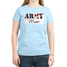 Army Mom Flag T-Shirt