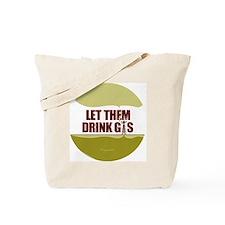 No Fracking - Let Them Drink Gas - lg but Tote Bag