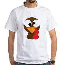 Funny Turkey Thanksgiving Face Shirt