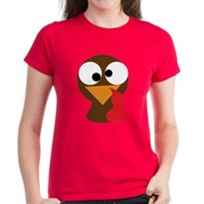 Funny Turkey Thanksgiving Face Tee