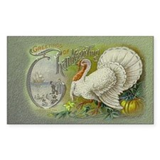 Greetings of Thanksgiving Decal