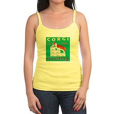 Square Corgi 1 Ladies Top