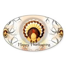 Vintage Turkey Thanksgiving,  Decal