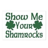 Show Me Your Shamrocks Postcards (Package of 8)