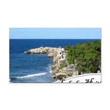 labadee Rectangle Car Magnet