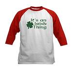 It's an Irish Thing Kids Baseball Jersey
