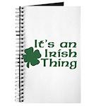 It's an Irish Thing Journal