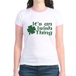 It's an Irish Thing Jr. Ringer T-Shirt