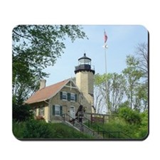 White River Light House Mousepad