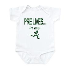 PRE LIVES... in me. Infant Bodysuit