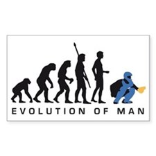 Evolution Baseball catcher B 3 Decal
