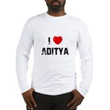 I * Aditya Long Sleeve T-Shirt