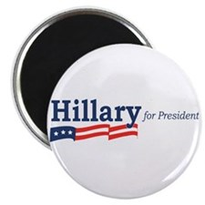 Hillary Clinton stripes Magnet