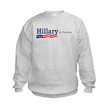 Hillary Clinton stripes Sweatshirt