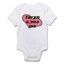 taryn loves me  Infant Bodysuit