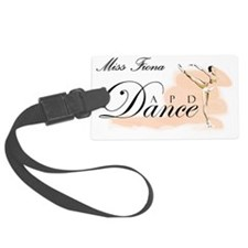 APD-Dance-Logo Miss Fiona Luggage Tag