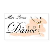 APD-Dance-Logo Miss Fiona Rectangle Car Magnet
