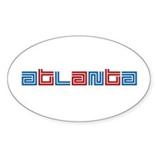 ATL SUPREME Oval Decal