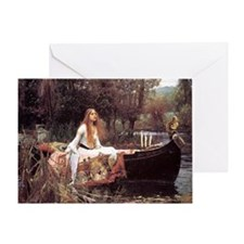 Lady of Shalott Greeting Card
