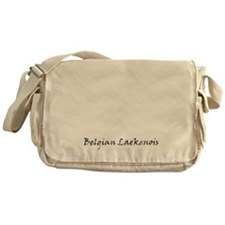 belgian laekenois white Messenger Bag