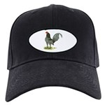 Blue OE Cock Black Cap