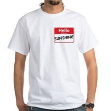 Hello My Name is Sunshine Shirt
