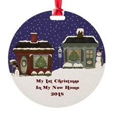 2018 My 1St Christmas Cottage Ornament
