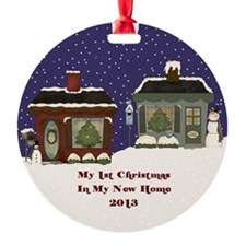 2013 My 1St Christmas Cottage Ornament