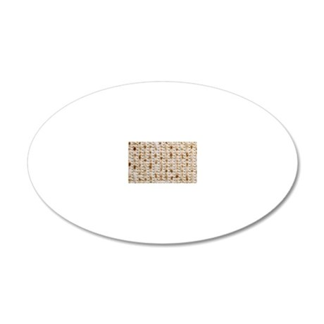 matzo, 828kb 20x12 Oval Wall Decal