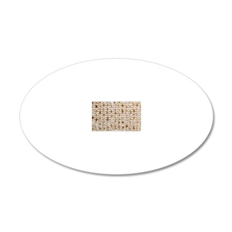 matzo 280 kb 20x12 Oval Wall Decal