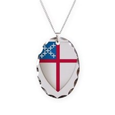 Episcopal Sheild Necklace