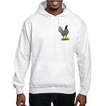 Blue OE Hen Hooded Sweatshirt