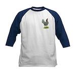 Blue OE Hen Kids Baseball Jersey
