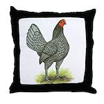 Blue OE Hen Throw Pillow