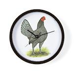 Blue OE Hen Wall Clock