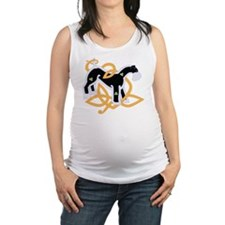 KerryBlueTrans Maternity Tank Top